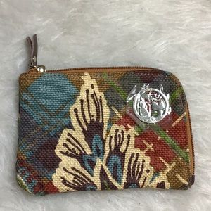 Spartina leather & linen nwot